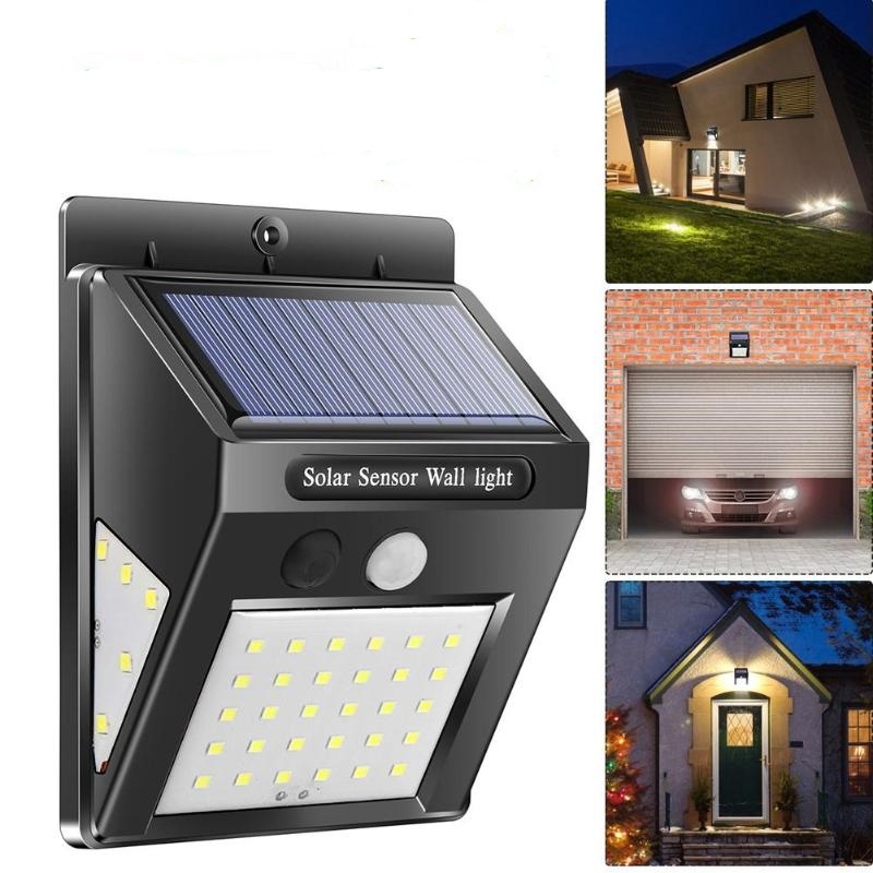 40 LED Solar Motion Sensor Wall Lights-4