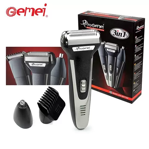 Gemei GM-598 Rechargeable Multi Function Shaver