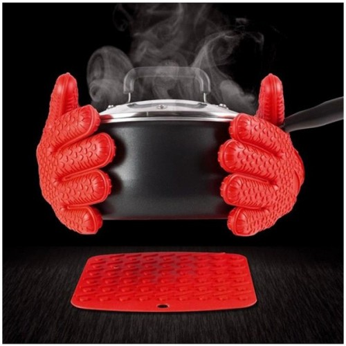 Hot Hands Silicone Cooking Gloves 2