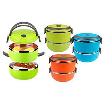 Double Layer Lunch Box