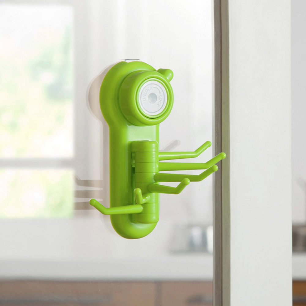 Kitchen Stronger Suction Cup Swivel Hook 1