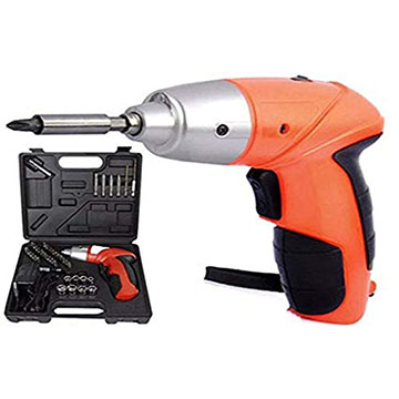 45pcs Cordless Rechargeable Screwdriver Set