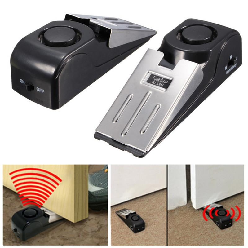 120dB Security Door Stop Alarm System