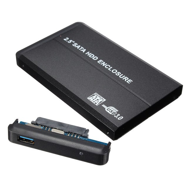2.5 SATA Hard Disk USB External Enclosure 2