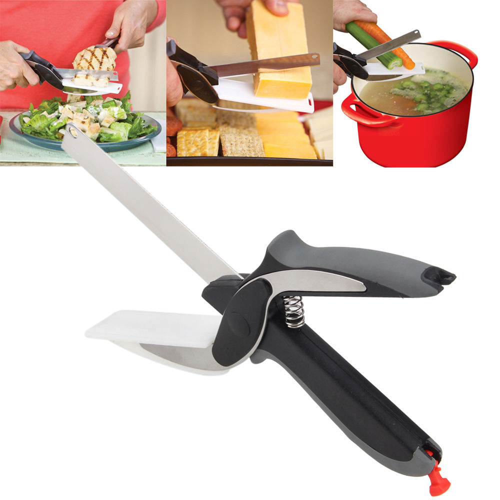 Clever Cutter – 2 in 1 Knife And Cutting Board 2