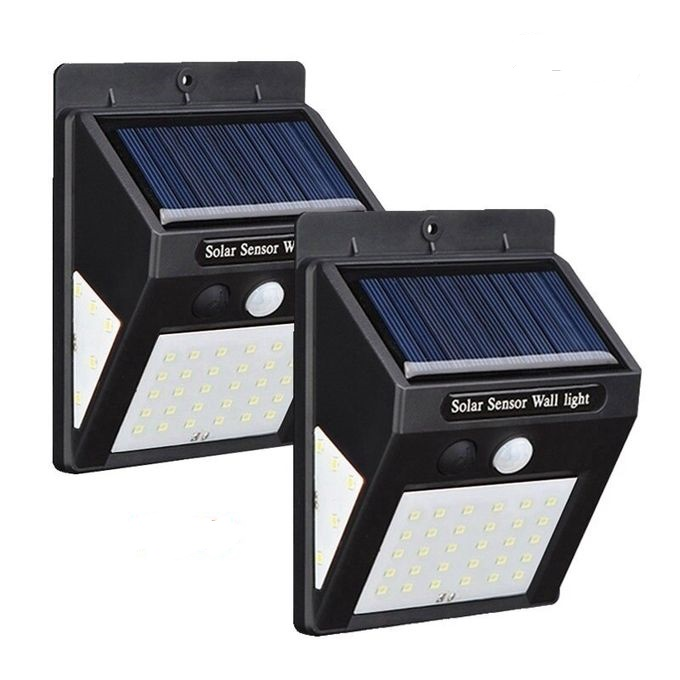 40 LED Solar Motion Sensor Wall Lights-5