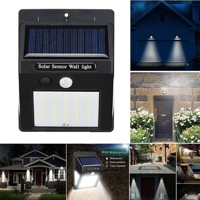 40 LED Solar Motion Sensor Wall Lights-3