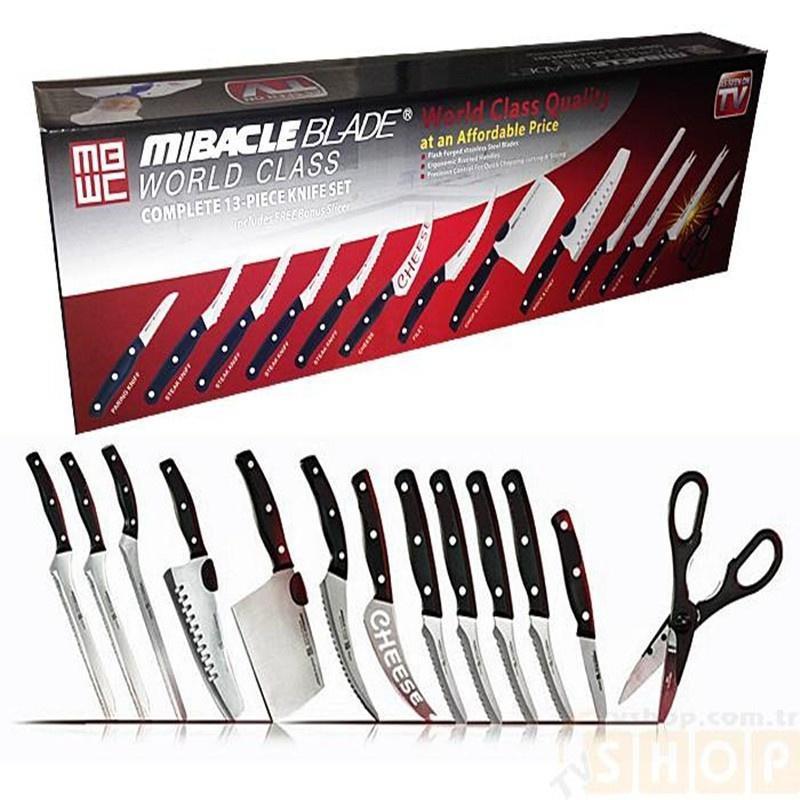 Miracle Blade World Class 13 pcs Knife Set-1