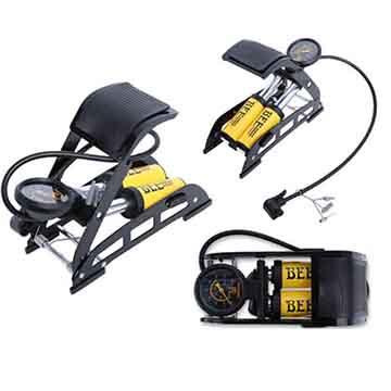Bee Portable Bike Pump, Floor Foot Pump